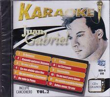 Juan Gabriel Karaoke Incluye Karaoke Vol 2 CD New Nuevo Sealed