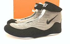 Nike Inflict Wrestling Shoes Medium Gray/Black Size 15 Us (Brand New)