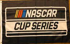 NASCAR Cup Series Flag 3x5 Racing Banner Black