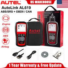 AUTEL AL619 ABS SRS Airbag OBD2 Automotive Diagnostic Tool Code Scanner As ML619