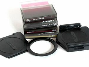 Cokin A filter set with holder & 52mm ring: SS1, 003, 128, 230