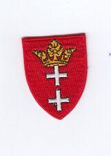 Danzig  Aufbügler Patch  Aufnäher Coat of Arms Polen Polska
