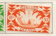 Polynésie Française-Océanie 1931-42 Early question fine Comme neuf charnière 30 C. 164327