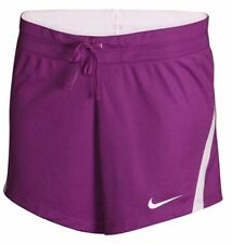 Nike Women's Dri Fit Infiknit Mid Training Running Shorts Purple XS 724426 NEW