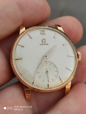 36,0mm - Vintage Omega jumbo gents watch solid gold 18k - ref. 2933
