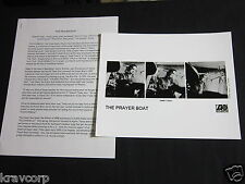 THE PRAYER BOAT 'POLICHINELLE' 2001 PRESS KIT--PHOTO