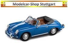 PORSCHE 356 C Cabriolet 1963 emailleblau EDIZIONE LIMITATA Spark 1:43