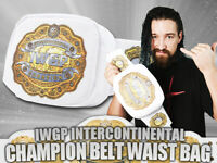IWGP Intercontinental Champion Belt Waist Bag New Japan Pro Wrestling body bag