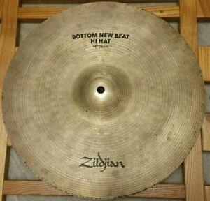 Zildjian New Beat Bottom Hi Hat Cymbal 14 Inch 1330g