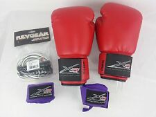 Lot of 5 X3 SPORTS Fitness Kickboxing Martial Arts MMA BOXING GLOVES Wrist Wraps