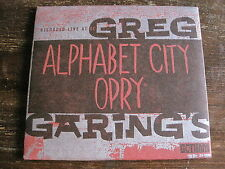 "Greg Garing's  ""Alphabet City Opry"" CD 1999 In Gotham Records"