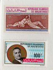 Mauritania Series Aéreas del año 1976 (CR-937)