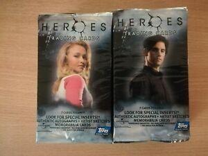 Heroes Season 1 Lot Of 20 Factory Sealed Trading Card Hobby Packs