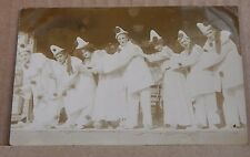 More details for postcard music hall  theatre clown act real photo unposted