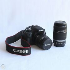 Canon EOS Rebel T2i / EOS 550D 18.0MP Digital SLR Camera (2 lenses - PERFECT)
