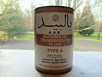 Vintage  unopened cardboard A.A.B. Transmission Fluid Specially for Saudi Arabia