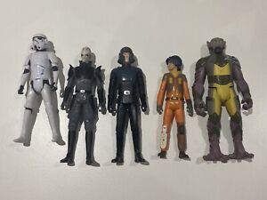 Star Wars - Rebels, Inquisitor, Agent Kallus, 1 x Stormtrooper, Ezra & Zeb