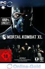 Mortal Kombat XL Key - Steam PC Digital Game Code - 100% UNCUT Version [DE/EU]