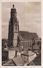 H 441 Nördlingen im Nördlinger Ries Schwaben, St. Georgskirche ungelaufen
