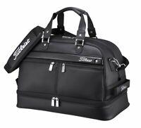 TITLEIST Boston Bag Sports Gym Travel AJBB67-BK Black W/Shoes Pocket Japan EMS
