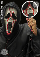 Masque Screamy sanguinolant avec capuche [00996] deguisement costume halloween