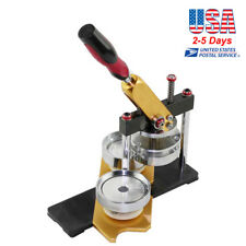 Badge & Button Maker Machine Button Making Supplies Mould Size 58mm Labor Saving