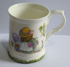 Faeries Sundays Child Hand-Decorated Bone China Mug - Beautiful Gift - Plse Rd.