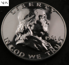 1961 Franklin Half Dollar ~ Proof ~ 90% Silver #790