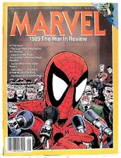 """MARVEL: 1989 THE YEAR IN REVIEW"" Marvel Comics Parody Magazine -McFarlane cover"