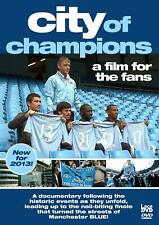 Manchester City  - City of Champions    (DVD)   **Brand New**