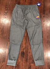 New Mens FC Barcelona Gray Sweat Pants XL