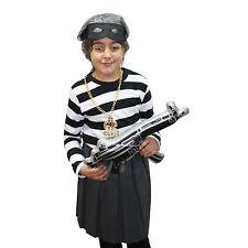 Gangster Adult / Kids Granny / Grandma Fancy Dress Gun Costume (WORLD BOOK DAY)