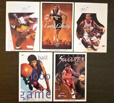 "5 WNBA Mini Posters ~ Swoops Cooper  Leslie Weatherspoon  (4 x 6"")"