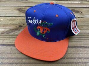 NWT VTG 90's UF University of Florida Gators Albert Snapback Hat Cap Football