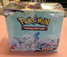 In STOCK POKEMON CHILLING REIGN BOOSTER BOX