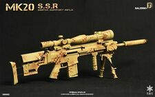 Easy & Simple 1/6 Toy MK20 Sniper Support Rifle   Set D Salerno (06004D)