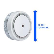 MINI allarme di fumo ottico 70mm 10 ANNO DURATA dt007 5 anni di garanzia fabbricazione