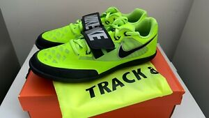 Nike Zoom Rival SD 4 Throwing Shoes Discus Shot Green/Black 685135-300 Size 8.5
