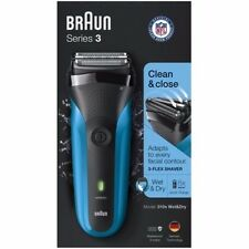 Braun Series 3 310s Wet & Dry Electric Shaver 2 pc Box Rechargeable Cordless