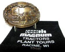Case IH 7100 Series MAGNUM Tractor Belt Buckle 1990 Racine Plant Tour 7140-7110
