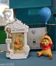 WDCC Winnie the Pooh ornaments - Up to the Honey Tree + Pooh and the Honey Tree