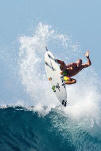 """Shane Dorian in Bali 8x12"""" Photo by Pete Frieden"""