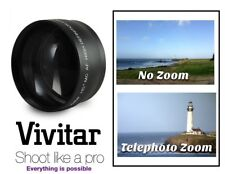 New Pro Hd 2.2x Telephoto Lens For Fujifilm Finepix Hs25Exr Hs28Exr