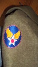 Military World War 2 Army Air Corps Military Pea coat Army Air Corps patch WWII
