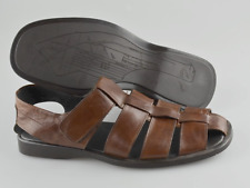 Men's TO BOOT NEW YORK 'Barbados' Brown Fisherman Sandals Size US 10.5 - D