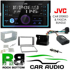 Ford Fiesta 2005-2008 JVC Bluetooth Mechless Car Stereo Anthracite Kit CTKFD48