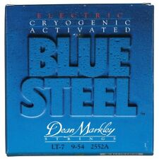 Dean Markley 2552A Blue Steel 7-String Electric Guitar Strings, Light (9-54)