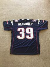 Signed Laurence Maroney #39 Patriots Jersey