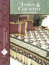 Lynette Jensen : TOWN & COUNTRY FLANNEL QUILTS Quilting Book - OOPS!