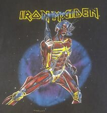 Vintage Iron Maiden Somewhere in Time Shirt. 1987. Authentic! Not A Reprint